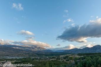 Vue de Cochrane - Région de Aysen - Chili
