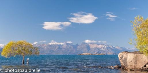 Vue sur le PN Laguna San Rafael depuis Pto Guadal - Aysen - Chili