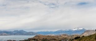 Lac General Carrera avant Pto Rio Tranquillo - Région Aysen - Chili