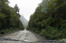 Sur la Carretera Austral en arrivant à Puyuhuapi - Région de Aysen - Chili
