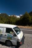 Arrière du Volcan Corcovado depuis la Carretera Austral - Au sud de Chaiten - Région Los Lagos - Chili