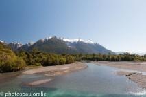 Vue sur le Parque Nactional Corcovado - Sud de Chaiten - Région Los Lagos - Chili