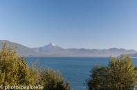 Volcan Corcovado vu depuis Chaitén - Région de los Lagos - Chili